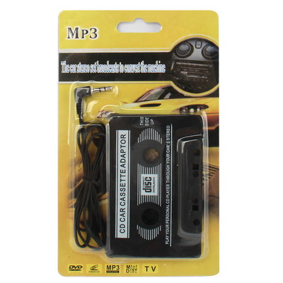 Car Audio Cassette Adapter (Black)