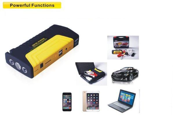 Car Battery Jump Starter, Laptop & Phone Charger 16800mah