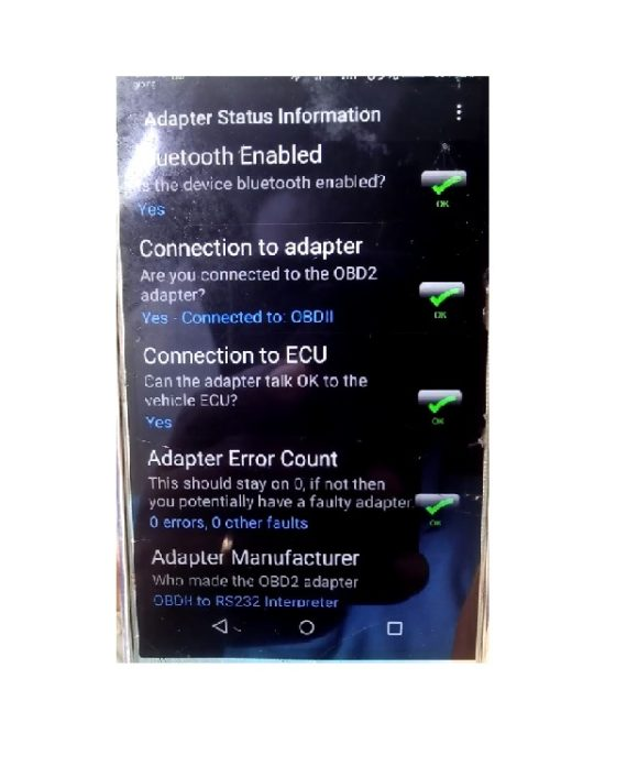 OBD II Bluetooth Car Scanner for ALL VEHICLES
