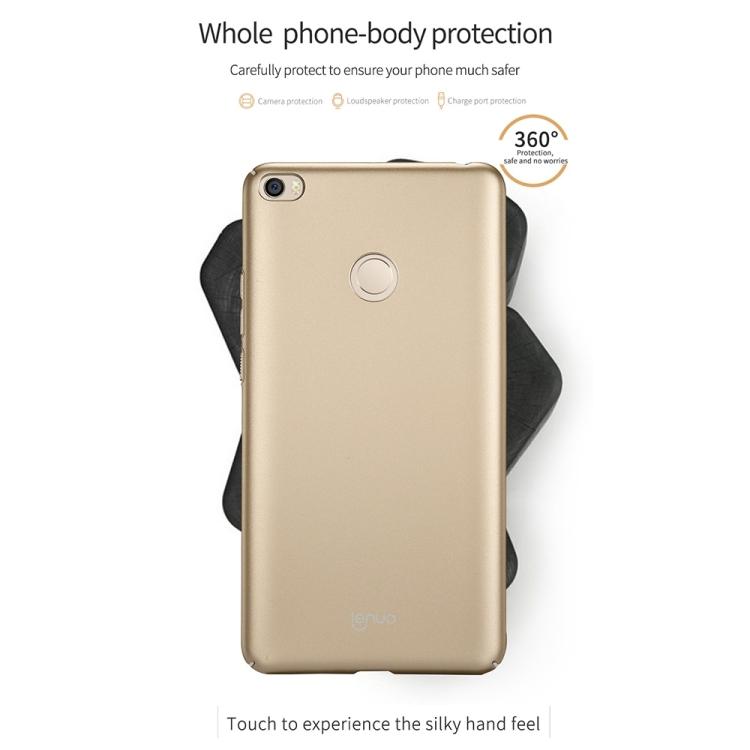 Xiaomi Mi Max 2 PC Back Case (Blue, Gold)